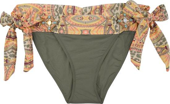 Boho BottomIbiza Bikini Olijf Groen Elite 38 M Olive wk80PnO