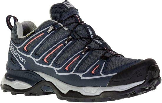 Salomon X Ultra 2 GTX Trailrunning Schoen Dames Loopschoenen - Maat 42 -  Vrouwen - blauw/grijs