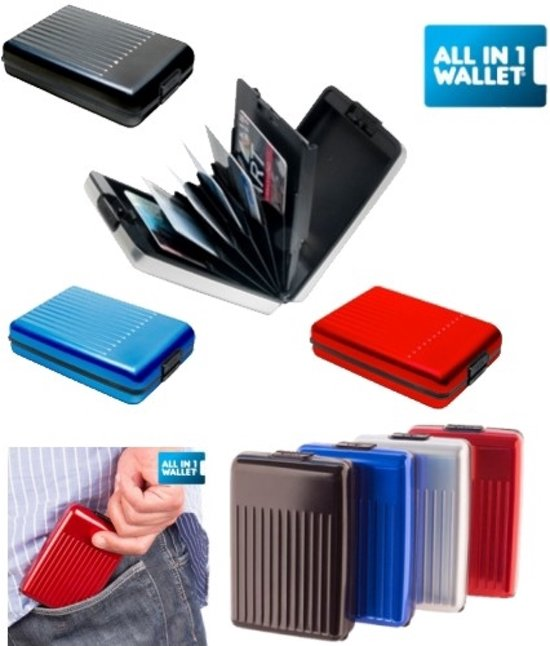 5425d6a04c4 bol.com | All-in 1 Wallet Zilver
