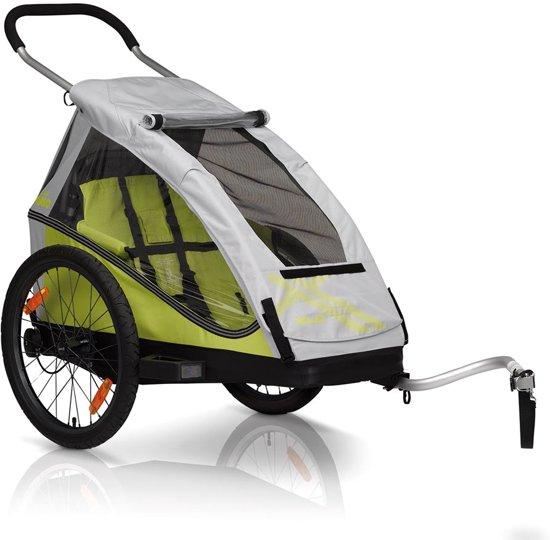 XLC Mono² - Fietskar - 1 Kind - Zilver/Groen voor €229