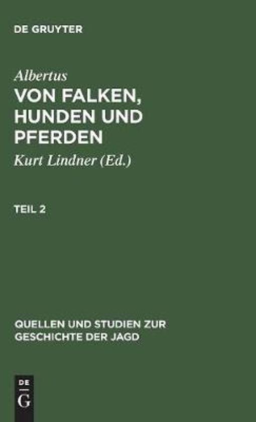 Quellen Und Studien Zur Geschichte Der Jagd 8
