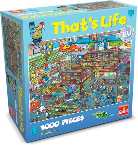 That's Life - Supermarkt - Puzzel - Goliath