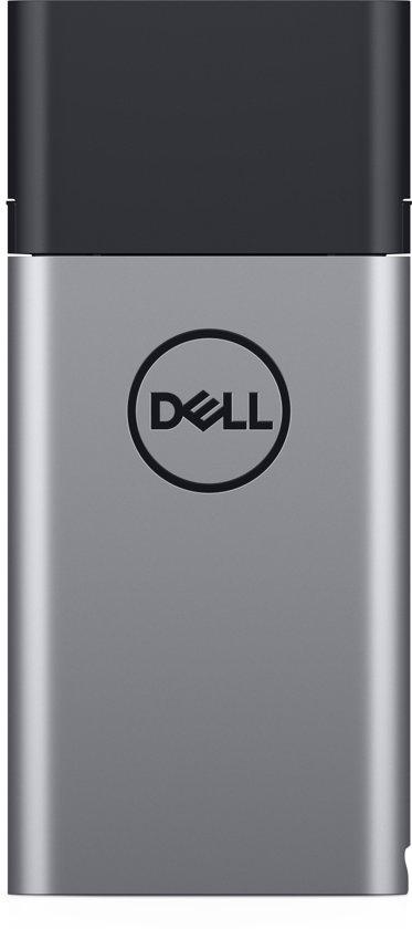 DELL Hybride adapter + powerbank USB-C | PH45W17-CA powerbank - Zwart, Zilver