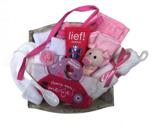 Bol kraam cadeau geboorte baby meisje dochter delig