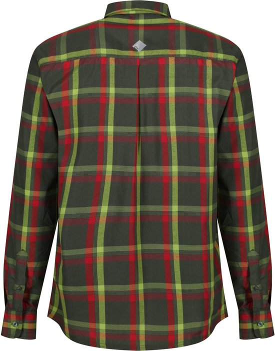 Regatta Mindano L/Sleeve Outdoorshirt - Heren - Groen