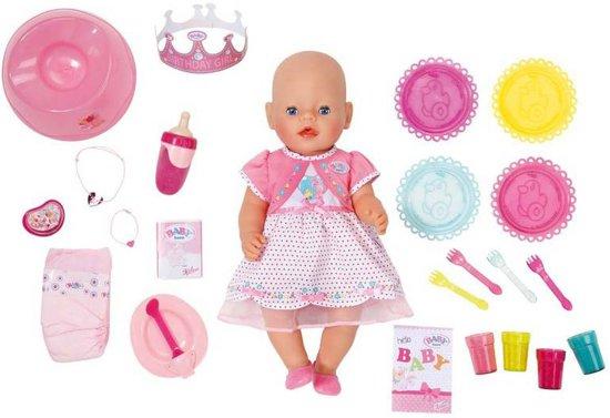 BABY born Interactieve Pop Verjaardag - Babypop