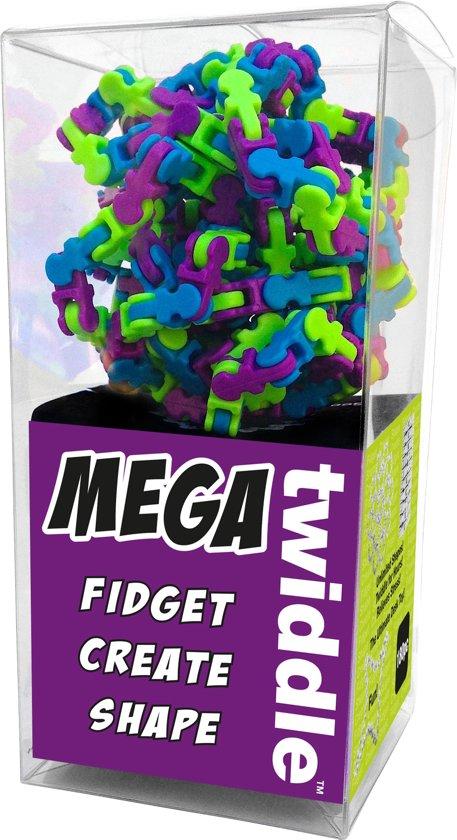 Mega Twiddle - Blauw, Groen en Paars