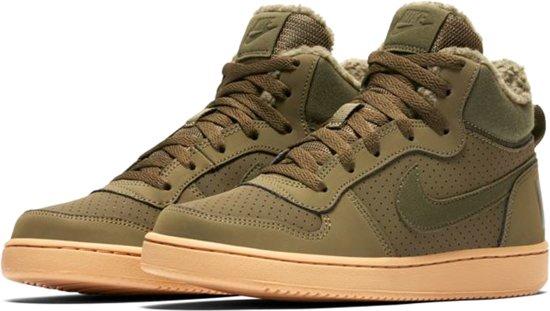 9a9b1a4989 Nike Court Borough Mid Winter Sneakers - Maat 40 - Unisex - olijfgroen