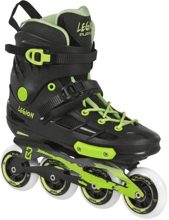 Playlife Inline Skates Legion Zwart/groen Maat 44