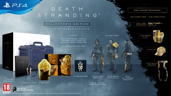 Death Stranding Collector's Edition - PS4