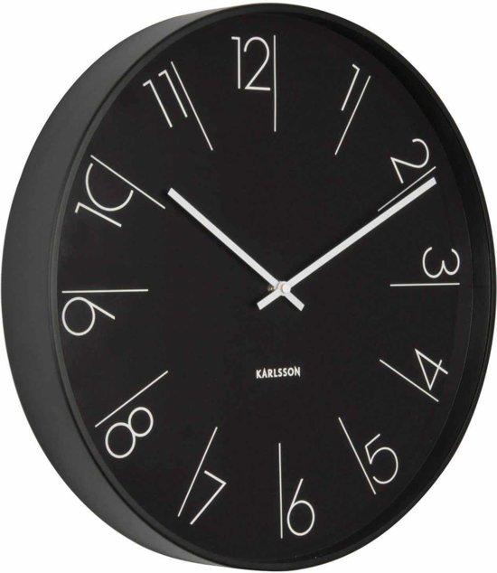 Karlsson Elegant Numbers Wandklok à 40 cm