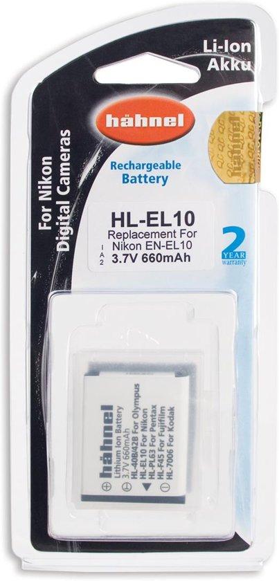 Hahnel HL-EL10 Li-Ion accu (Nikon EN-EL10)