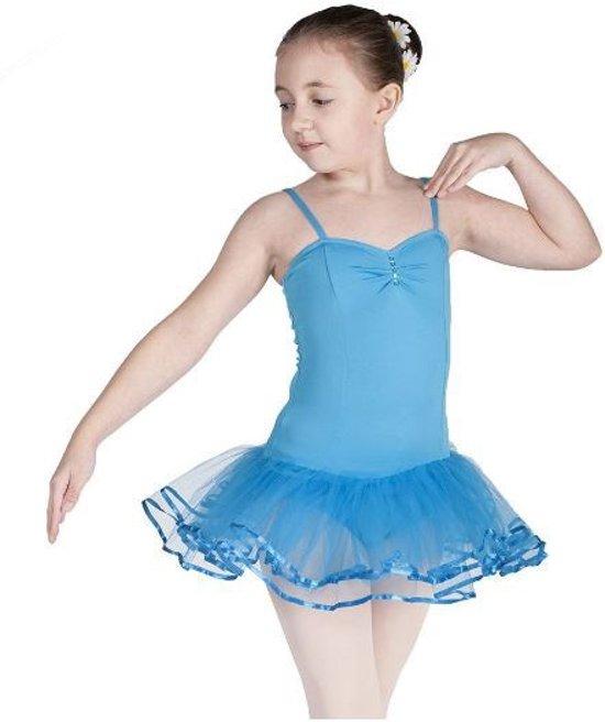 Balletpakje Turkoise - Maat 128-134