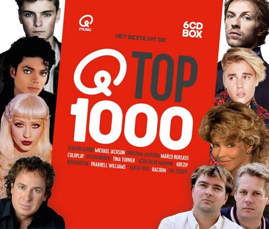 CD cover van Qmusic: Het Beste Uit De Top 1000 - 2017 van Qmusic (NL)