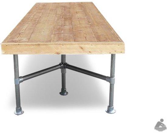 Steigerbuis Tafel Onderstel : Steigerhout steigerbuis tafel tafel steigerhout met