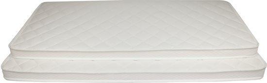 Matrassenmaker - Topmatras Tencel 180x200x6 Koudschuim HR55 hard topper