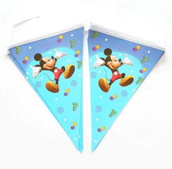 Mickey Mouse vlaggenlijn met 10 vlaggen
