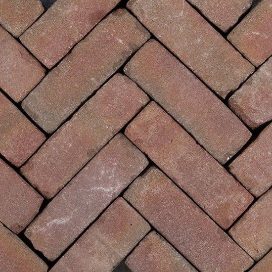 35 stuks! Art brick fabriti rd/br 7x20x8.5 cm Gardenlux