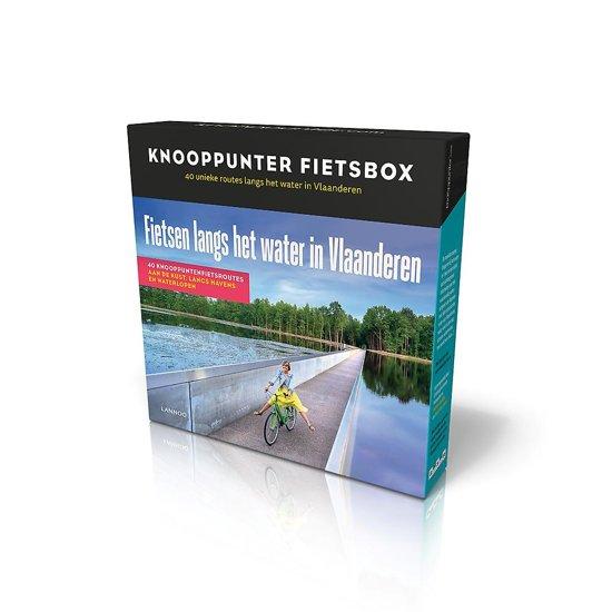 Boek cover KNOOPPUNTERBOX FIETSEN LANGS WATER IN VLAANDEREN van Patrick Cornillie