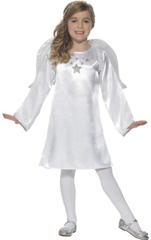 Bol Com Engel Kostuum Zilveren Sterren Engel Meisje Large