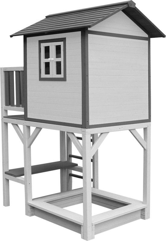 Sunny Speelhuis Lodge XXL Plus wit hout C050.012.00