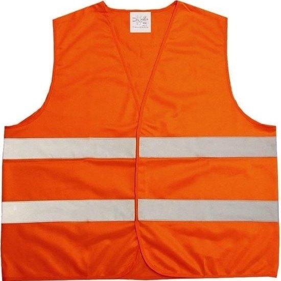 Oranje veiligheidsvest voor volwassenen - veiligheidshesje