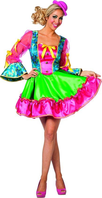 Clown & Nar Kostuum | Clown Circus Ringling | Vrouw | Maat 44 | Bierfeest | Verkleedkleding