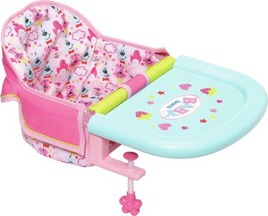 Baby Stoeltje Tafel.Baby Born Babystoel Voor Aan Tafel