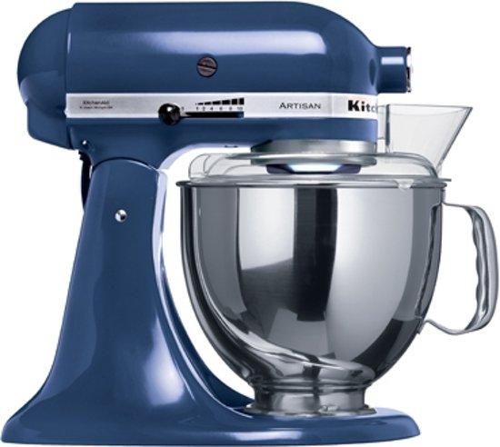 kitchenaid artisan keukenmachine 5ksm150psebu blauw. Black Bedroom Furniture Sets. Home Design Ideas
