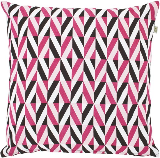Dutch Decor Kussenhoes Mosy 45x45 cm roze