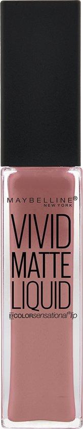 Maybelline Vivid Matte Liquid - 50 Nude Thrill - Nude - Lippenstift