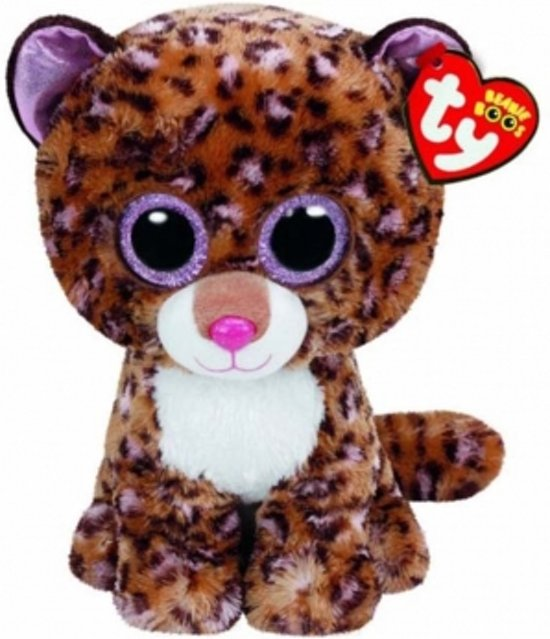 be2aac05b0c Ty Beanie Boo Patches Luipaard 24cm
