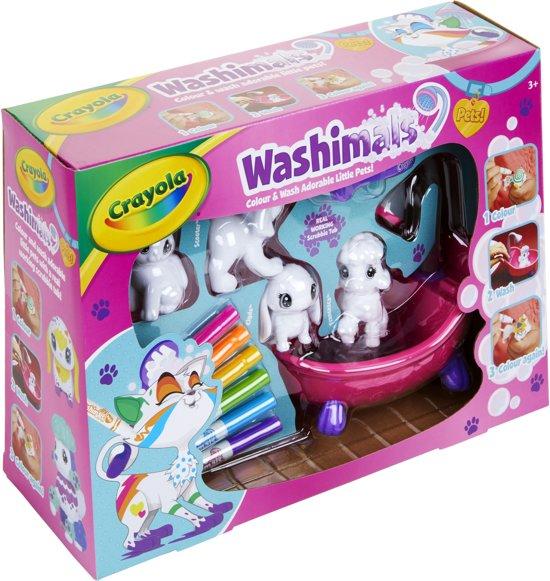 Afbeelding van Crayola Washimals Huisdieren speelgoed