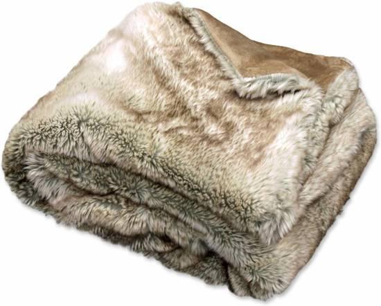 Grand Foulard Bont.Bol Com Unique Living Canberra Bont Plaid Fake Fur