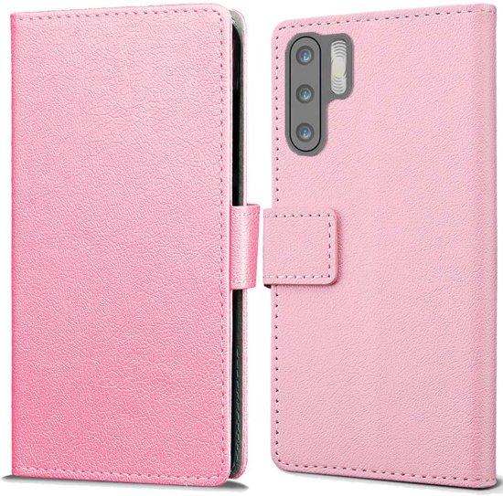Huawei P30 Pro Wallet Case Hoesje - Roze