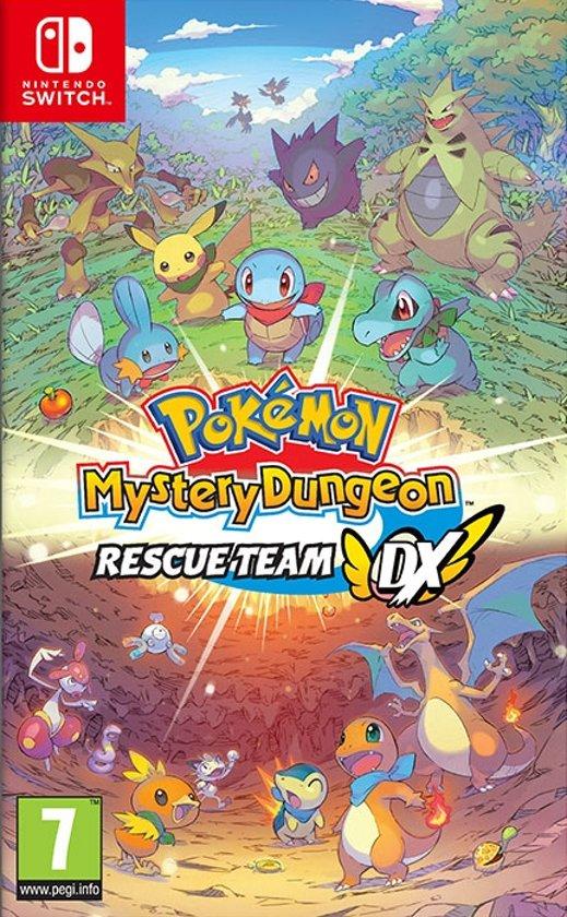 Afbeelding van Pokémon Mystery Dungeon: Rescue Team DX - Switch
