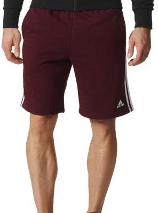 bol.com | adidas - Essentials 3-Stripes Short FT - Heren ...