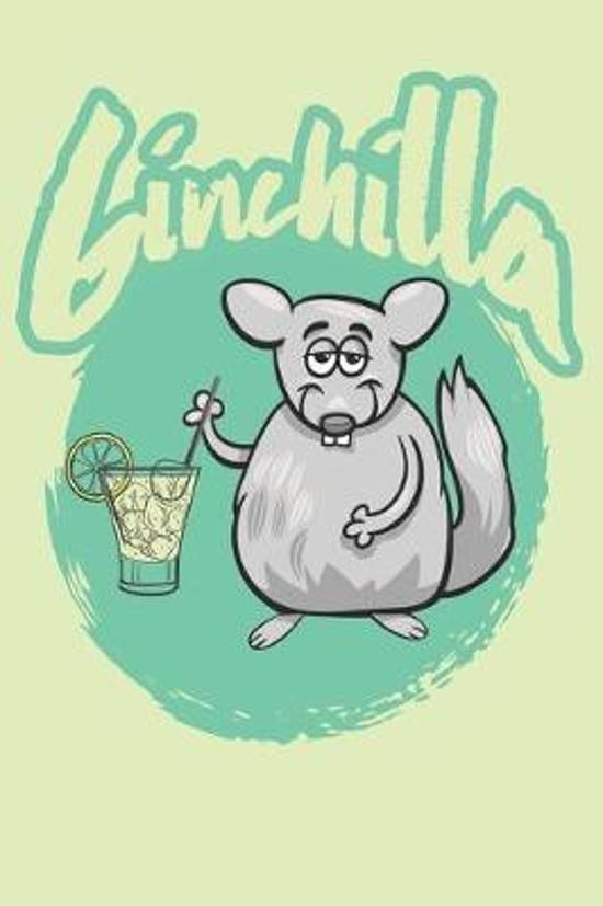 Ginchilla Notebook green: Lined notebook journal, diary and sketchbook for all teachers and students, kids and adults! 6 x 9 inches (about DIN A