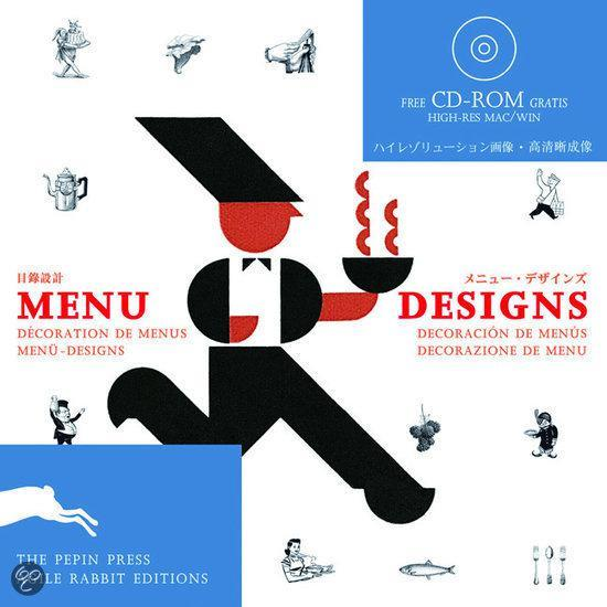 bol com   Menu Designs, Pepin Press   9789057680144   Boeken