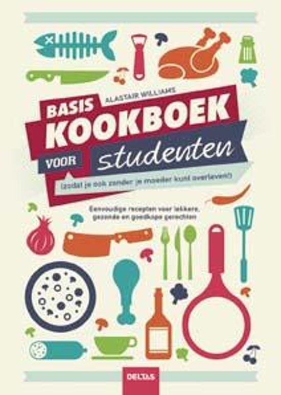 Boek cover Basiskookboek voor studenten van Alastair Williams (Paperback)