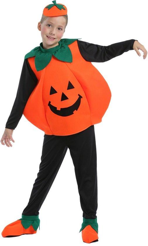 Halloween Verkleedkleding Kind.Pompoen Kostuum Pompoen Kind Cute Pumpkin Kostuum Maat 158 Halloween Verkleedkleding