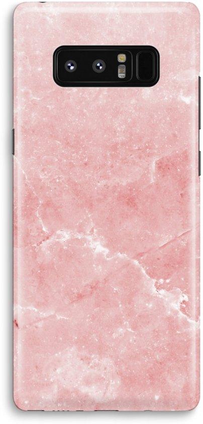Marbre Étui En Silicone Rose Pour Le Samsung Galaxy Note 8 mdokCnex