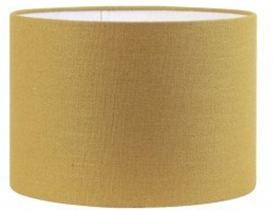 Populair bol.com | Lampenkap stof cilinder Livigno Okergeel 18-18-H15 &GC06