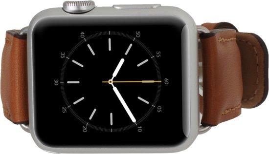 Echt Lederen bruin horlogeband 38mm Apple Watch, Apple Watch Sport of Apple Watch Edition.