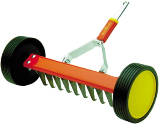 WOLF-Garten Verticuteerroller UR-M 3 - werkbreedte 30 cm - rollende verticuteer hark