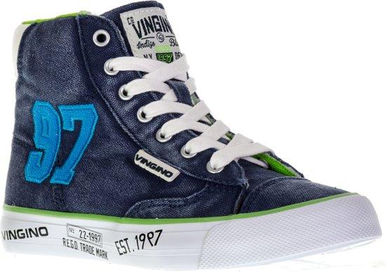 Dave Milieu De 97 Chaussures - Taille 32 - Unisexe - Bleu / Vert 2nsFbeQl