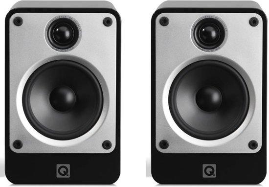 Q Acoustics Concept 20 - Boekenplank Luidspreker - Zwart ( Per Paar )
