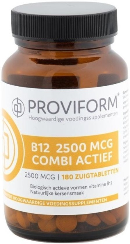 Proviform Vitamine b12 2500 mcg combi actief