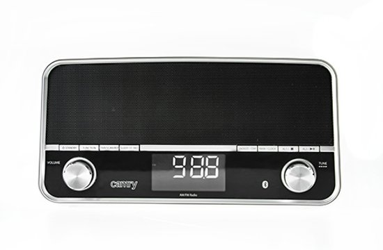 Camry CR1151b - USB Radio - zwart - bluetooth - LCD scherm
