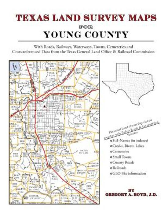Texas Land Survey Maps for Young County